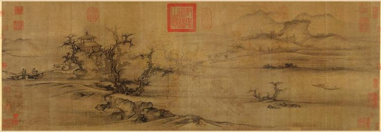 Old Trees, Level Distance, 1080 - Guo Xi