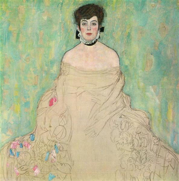Amalie Zuckerkandl, 1917 - 1918 - Gustav Klimt