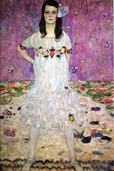 Mada Primavesi, c.1912 - Gustav Klimt