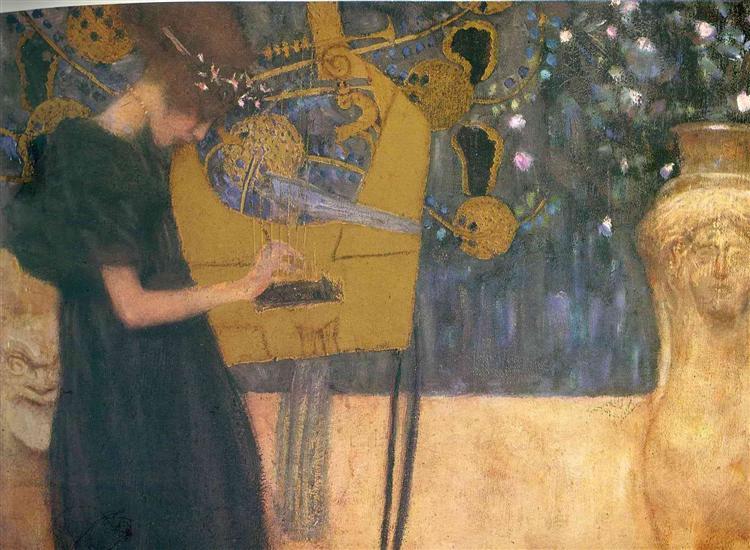 Art Nouveau Paintings Gustav Klimt Only