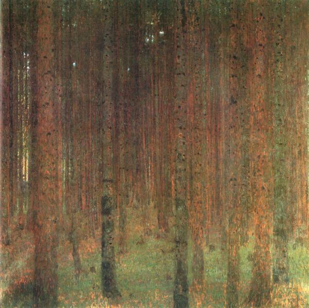 Pine Forest II, 1901 - Gustav Klimt