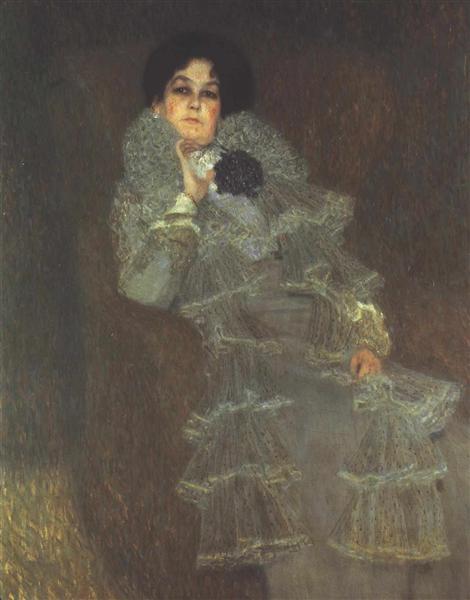 Portrait of Marie Henneberg, 1901 - 1902 - Gustav Klimt
