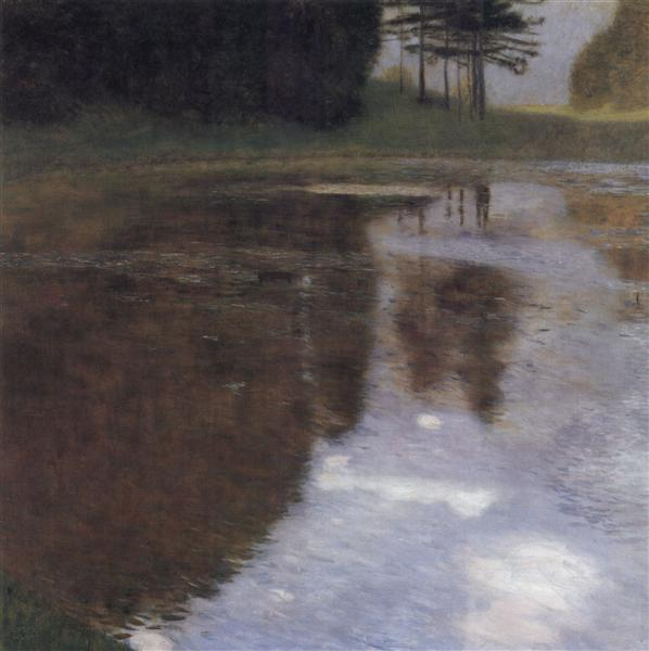 Quiet pond in the park of Appeal, 1899 - Густав Клімт