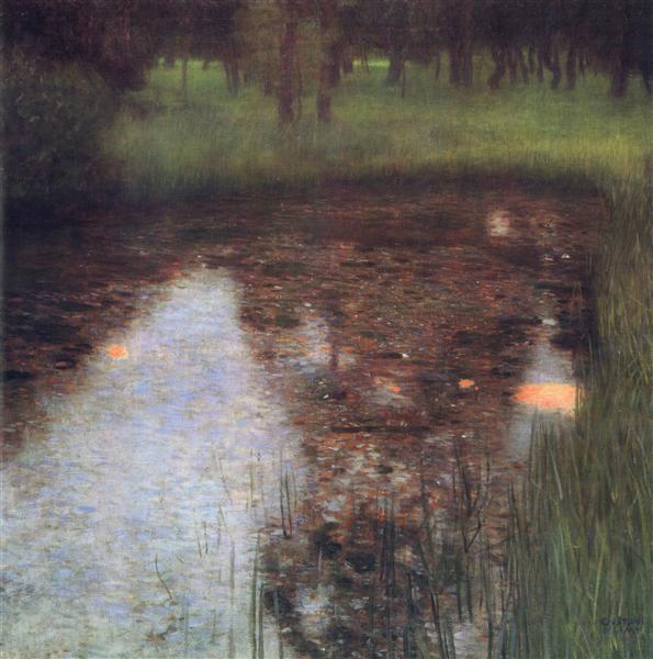 The Swamp, 1900 - Gustav Klimt
