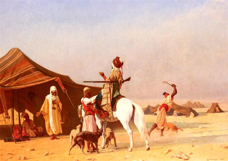 It's the Emir, 1870 - Gustave Boulanger
