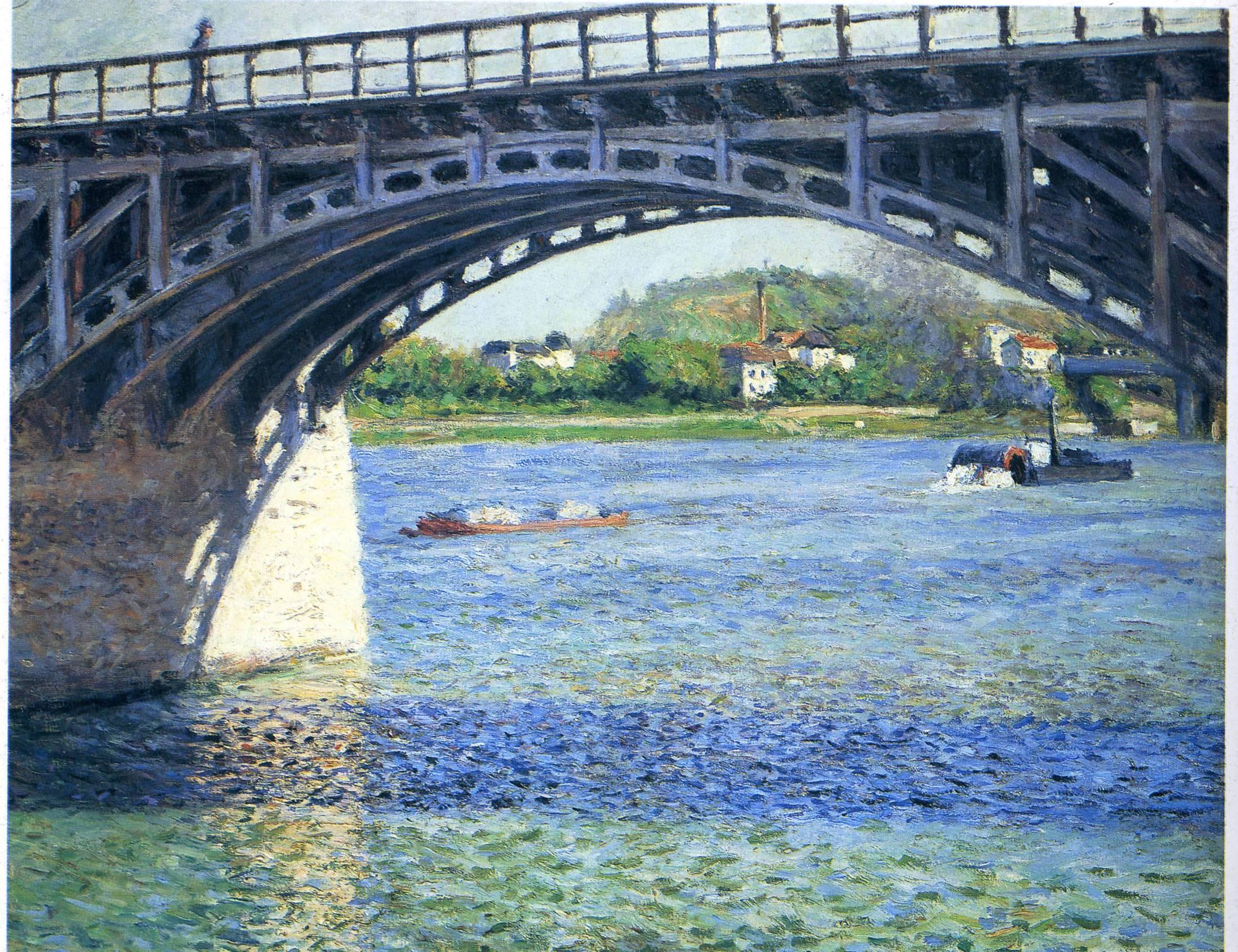 Pont d'Argenteuil, 1885