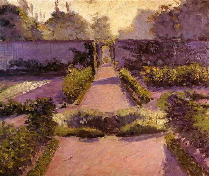 The Kitchen Garden, Yerres, c.1877 - Gustave Caillebotte