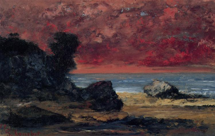 After the Storm, 1872 - Gustave Courbet
