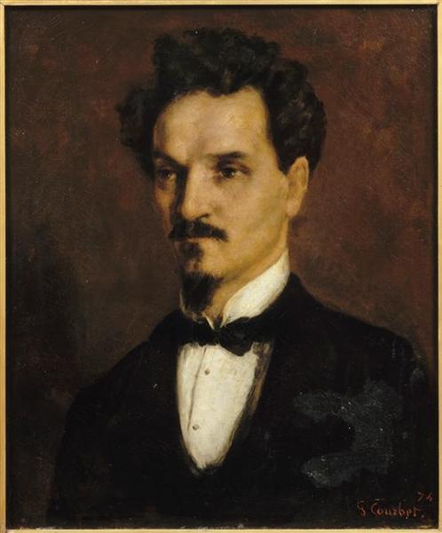 Henri Rochefort, 1874 - Gustave Courbet
