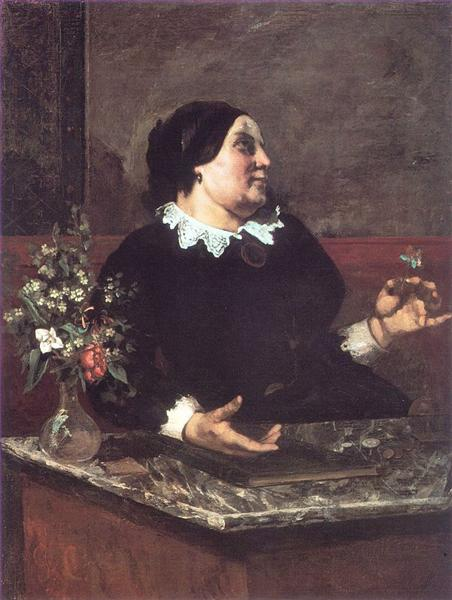 Mother Gregoire, 1855 - Gustave Courbet