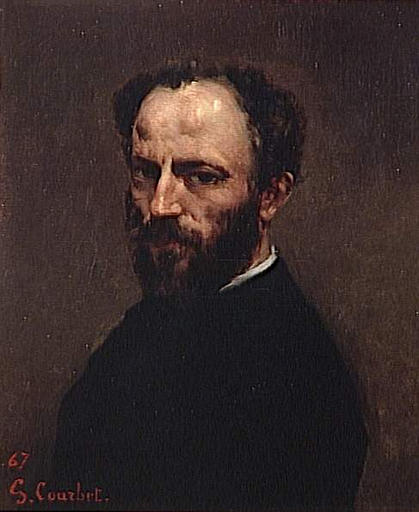 Portrait of Amand Gautier, 1867 - Gustave Courbet