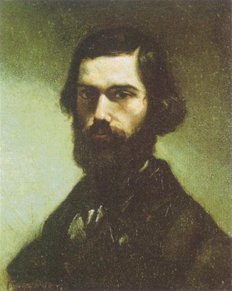 Portrait of Jules Valles, 1855 - 1865 - Gustave Courbet