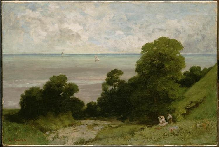 The Embouchment of Seine, 1841 - Gustave Courbet