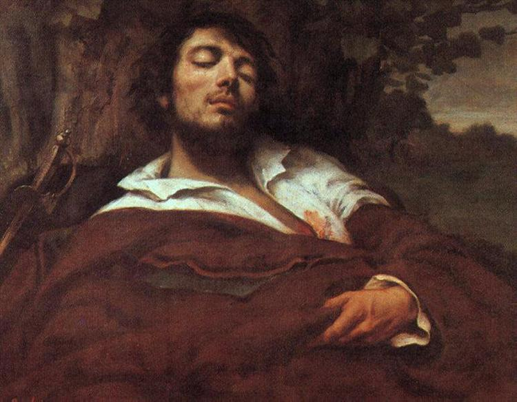 The Wounded Man, 1844 - 1845 - Gustave Courbet