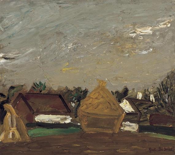 Landschap met Stromijt, 1941 - Густав де Смет