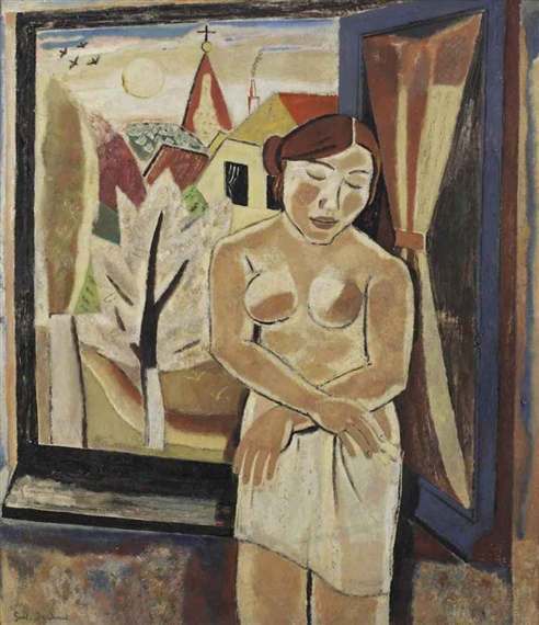 Nude by a window, 1931 - Gustave de Smet