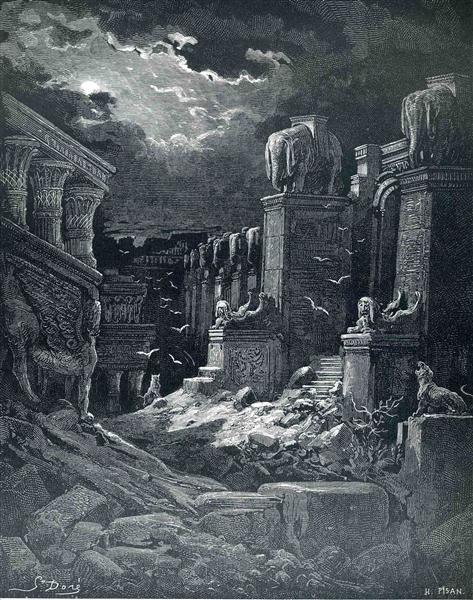 Babylon Fallen - Gustave Dore