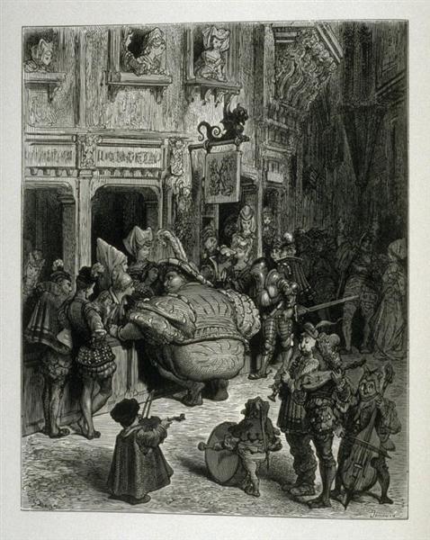 Gargantua - Gustave Dore