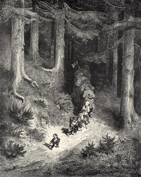 Hop-o'-My-Thumb - Gustave Dore