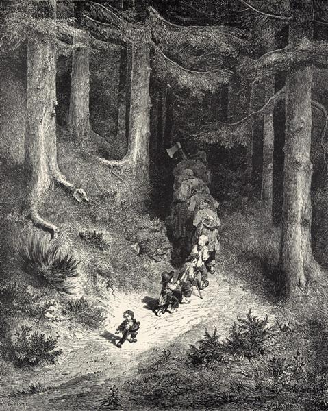 Hop-o'-My-Thumb - Gustave Dore