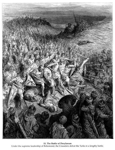 The Battle of Dorylaeum - Gustave Dore