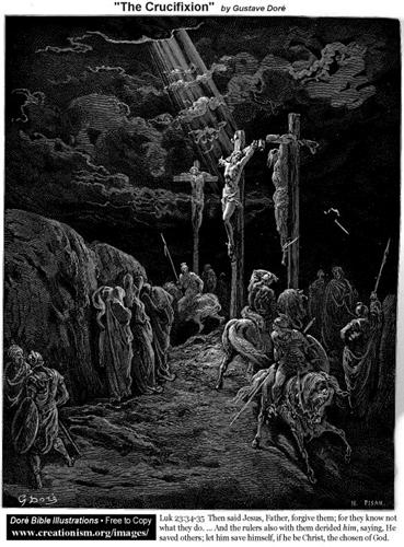 The Crucifixion - Gustave Dore
