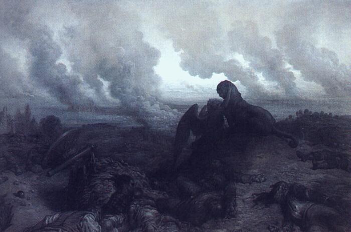 The Enigma, 1871 - Gustave Dore