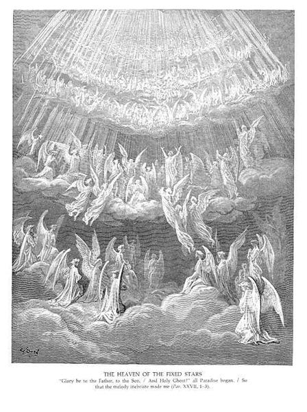 The Heaven of the Fixed Stars II - Dore Gustave