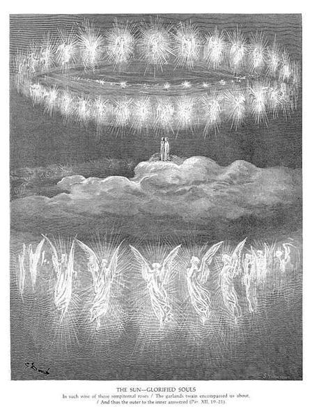 The Sun--Glorifies Souls - Gustave Dore - WikiArt.org