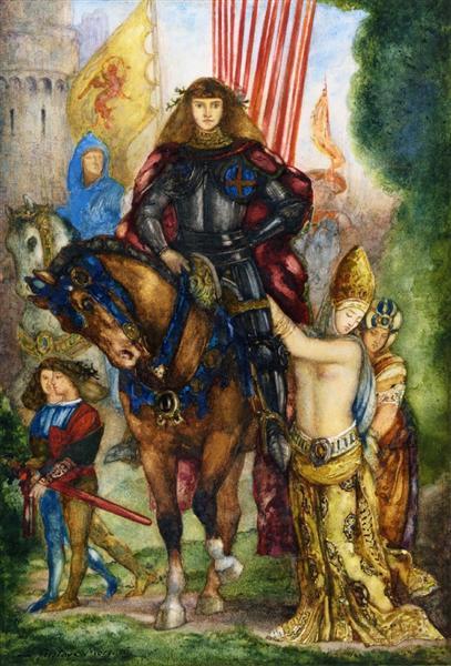 Rea and Captives, c.1878 - 1880 - Gustave Moreau