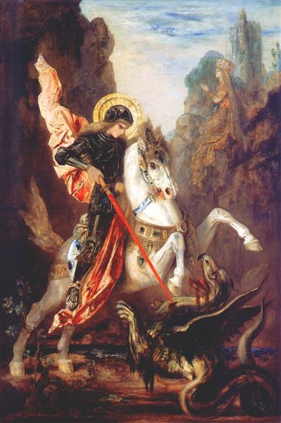 Saint George - Moreau Gustave