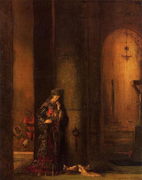 Salome in Prison, c.1873 - 1876 - Gustave Moreau