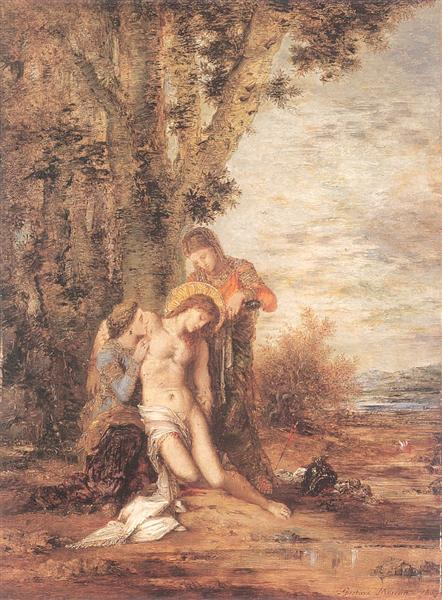 The Martyred St. Sebastian, 1869 - Gustave Moreau