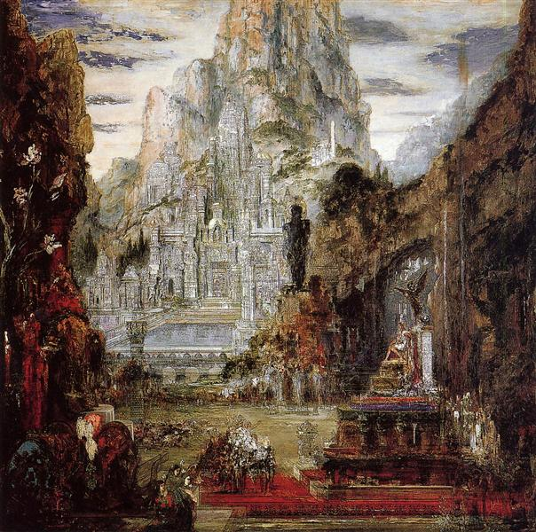 The Triumph of Alexander the Great, 1886-1892 - Gustave Moreau
