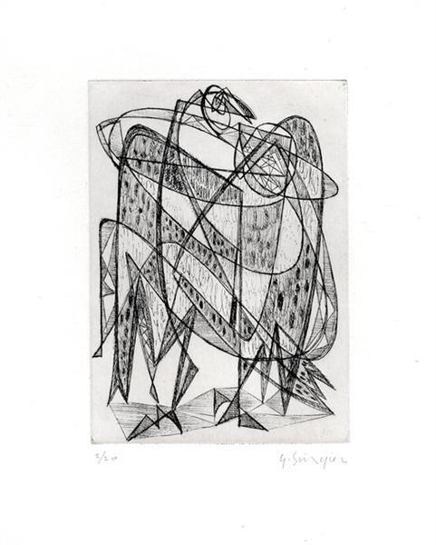 Untitled, 1942 - Gustave Singier