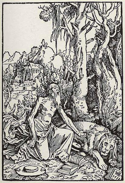 St. Jerome, 1511 - Hans Baldung