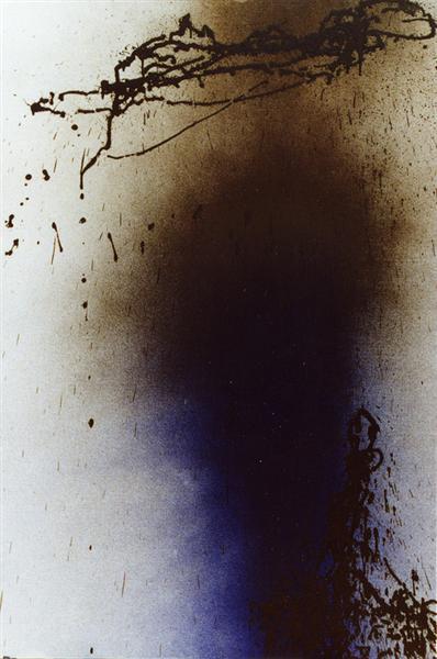 Untitled (T1989-U11), 1989 - Hans Hartung