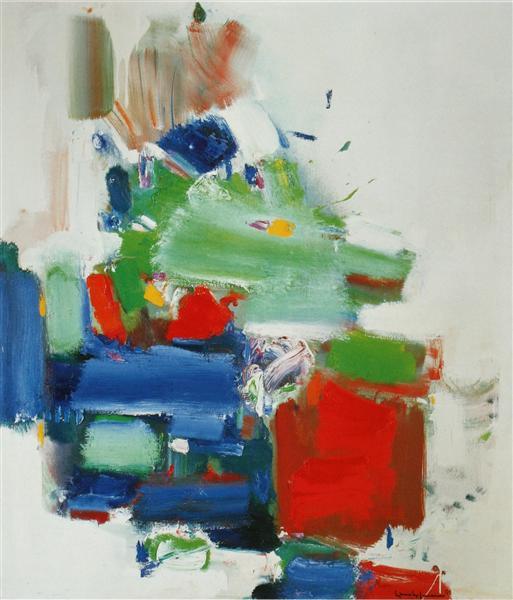 Art Like Love Is Dedication, 1965 - Hans Hofmann