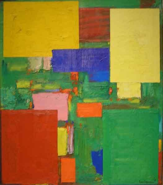 Equipoise, 1958 - Hans Hofmann