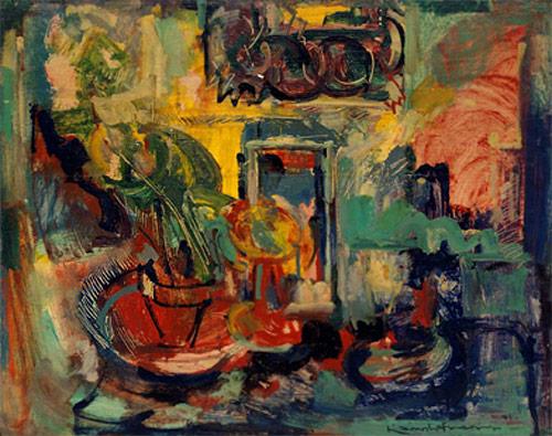 Still Life Interior, 1941 - Hans Hofmann
