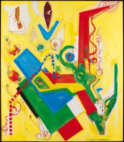 Yellow Predominance, 1949 - Hans Hofmann