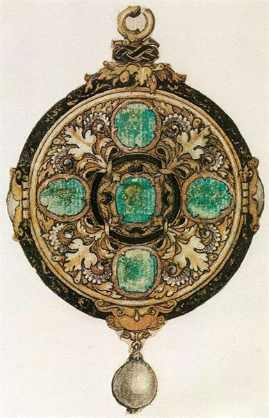 Design for a Pendant, c.1535 - Hans Holbein the Younger