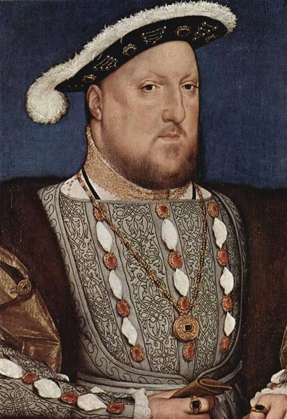 Portrait of Henry VIII, King of England, c.1535 - Hans Holbein the Younger
