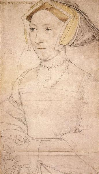 Portrait of Jane Seymour, 1537 - Hans Holbein the Younger