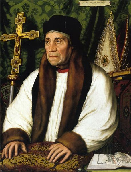 Portrait of William Warham, Archbishop of Canberbury, 1527 - Hans Holbein the Younger