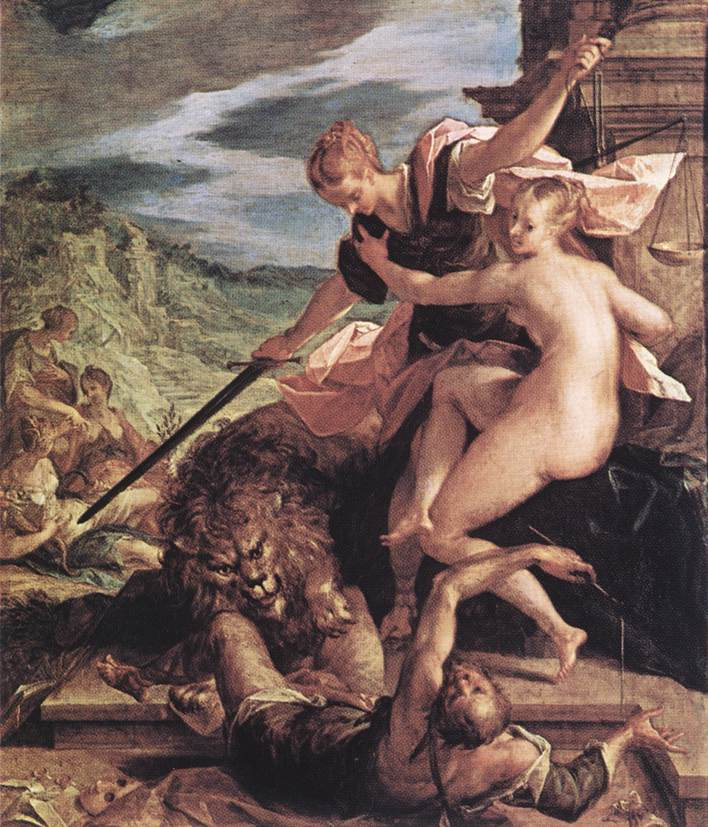 Allegory or The Triumph of Justice, 1598
