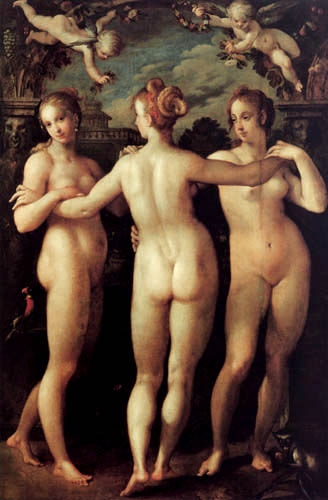 The Three Graces, 1604
