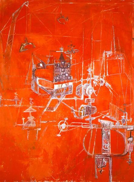 Machine 5, 1950 - Hedda Sterne