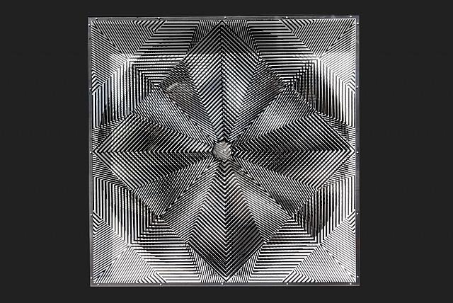 Gitter-Rotor, 1967 - Heinz Mack