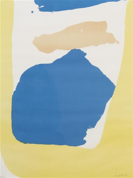Frankenthaler Preview, 1965 - Гелен Франкенталер
